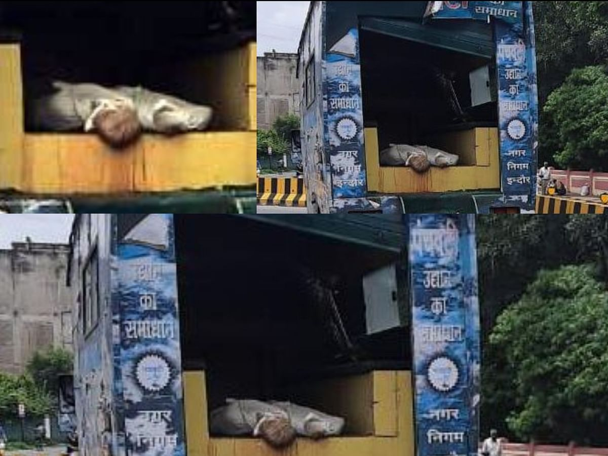इंदौर : निगम के शव रथ कर रहे कोविड से मृत देह का अपमान