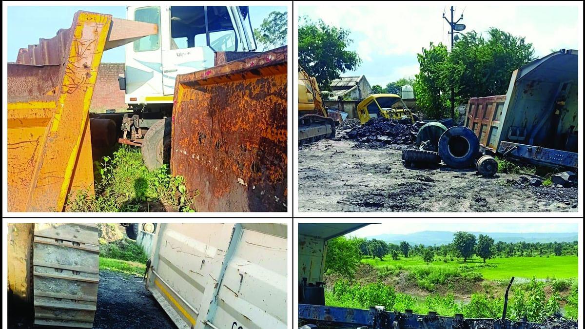 उमरिया : बकायादार कर्ज छुपाने कटवा रहा वाहन