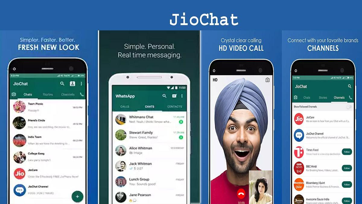 WhatsApp को रिप्लेस करने की तैयारी में नजर आ रही रिलायंस Jio