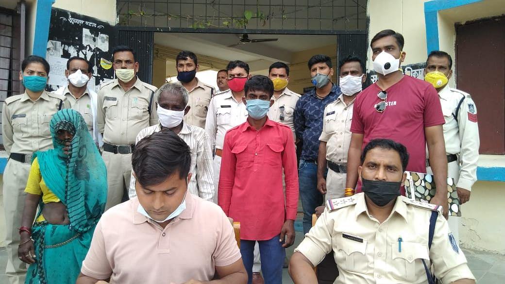 खाचरौद पुलिस ने हत्या के आरोपियों को 24 घंटे में पकड़ा