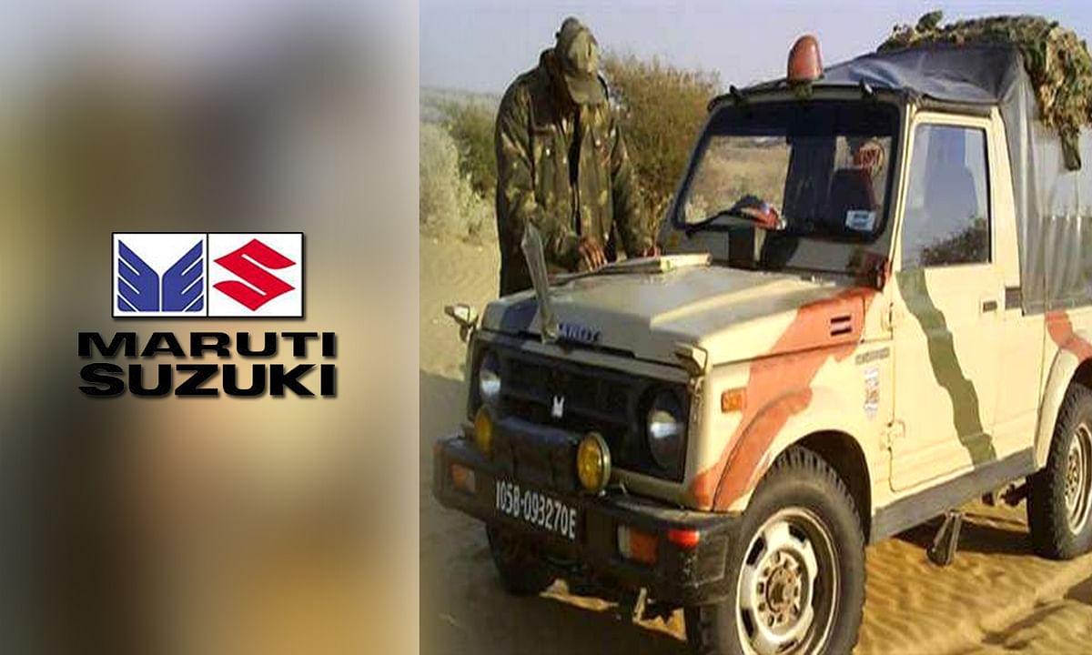 Maruti Suzuki ने इंडियन आर्मी को गिफ्ट की Gypsy की यूनिट्स
