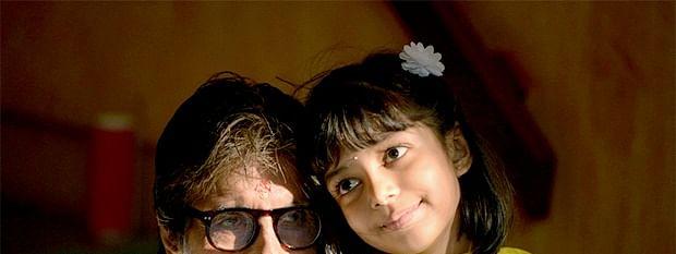 Aaradhya and Amitabh Bachchan