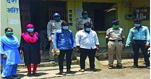 गांजे की खेप सहित चार गिरफ्तार