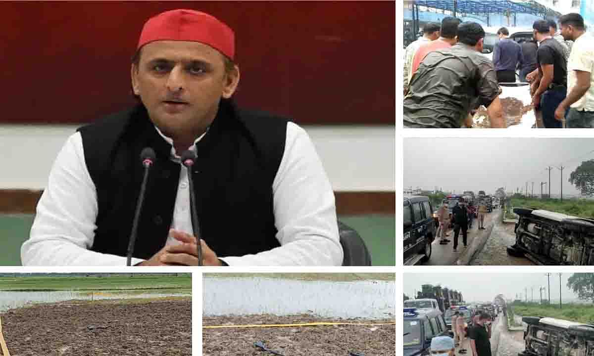 उत्तर प्रदेश गैंगस्टर विकास का एनकाउंटर सरकार बचाने के लिए किया:अखिलेश