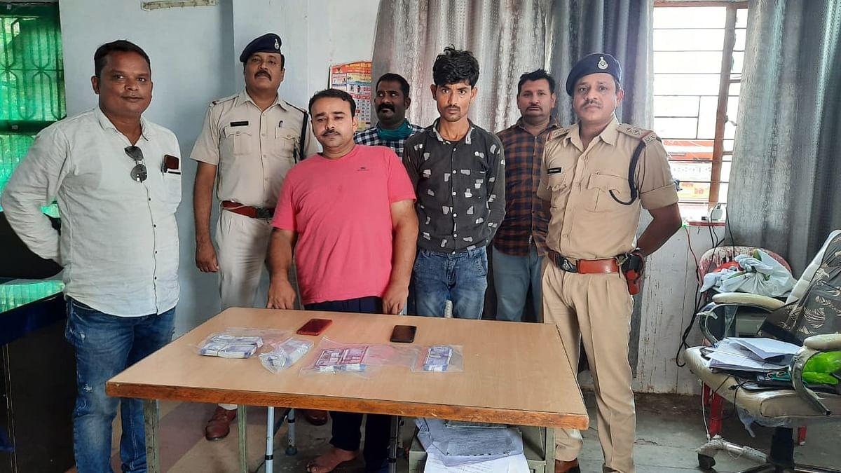 भोपाल: पुलिस ने दो आरोपियों से बड़ी मात्रा में किये नकली नोट जब्त