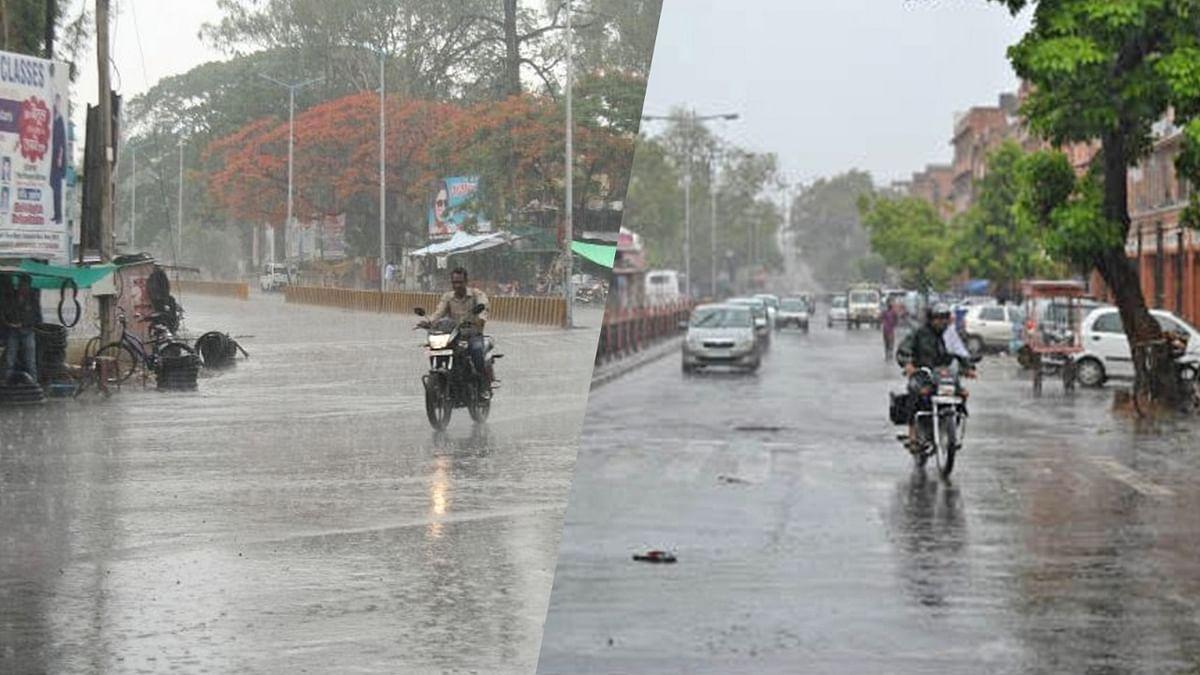 MP के कई जिलों में लगातार हो रही है बारिश, सर्द हवा और फुहार ने बढ़ाई ठिठुरन