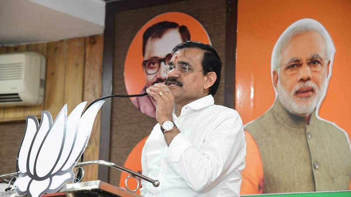 MP: कांग्रेस के राज में हमेशा जनता को लूटने की योजना बनी- वीडी शर्मा