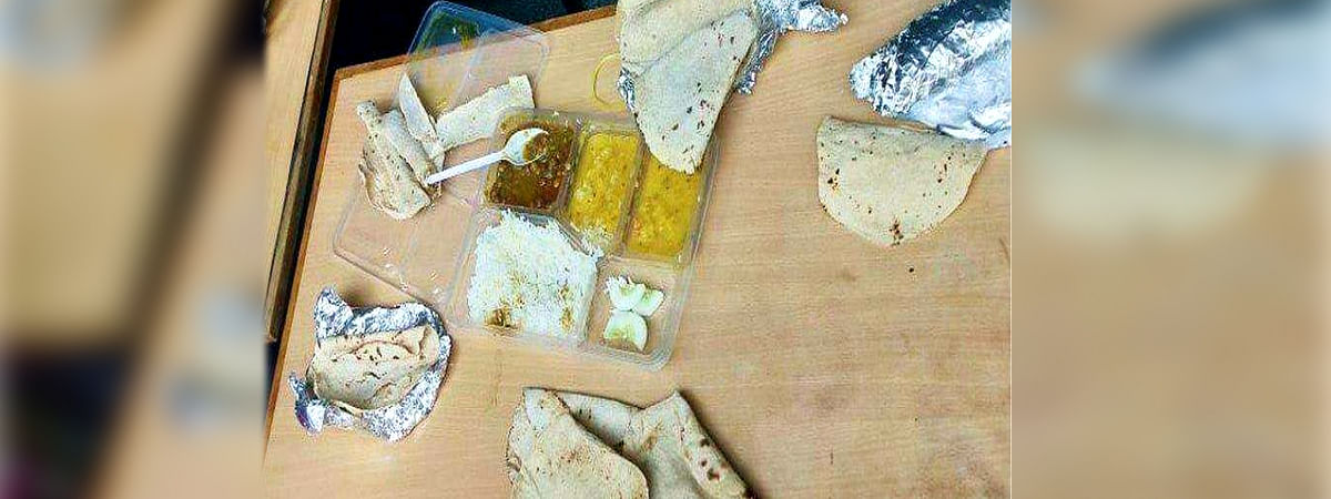 Serving Rotten Food at Bhopal Quarantine Center
