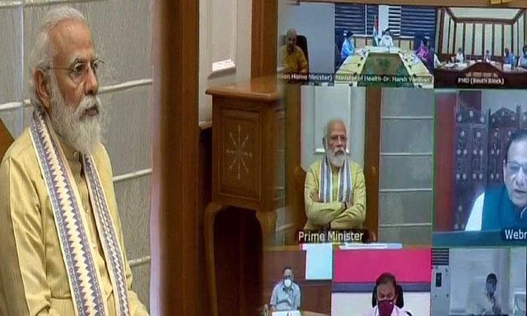 PM मोदी की कोरोना हालात पर समीक्षा-दिल्ली से सीखें अन्य राज्य की सरकार