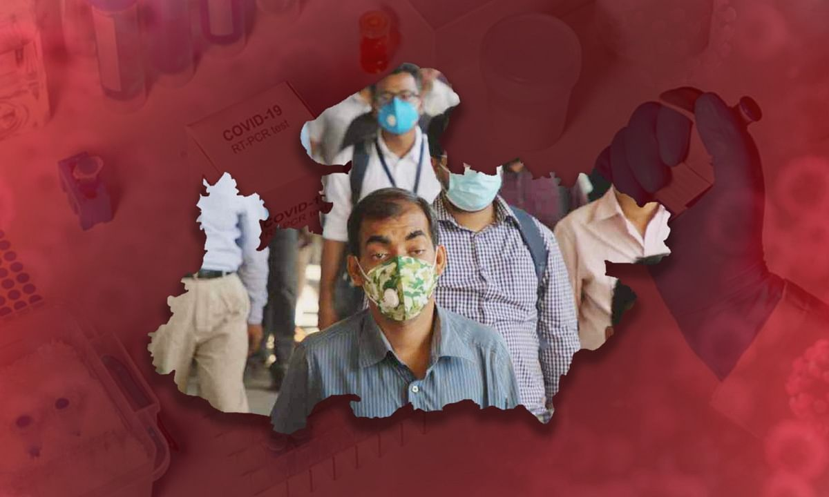 प्रदेश में कोरोना संक्रमित मरीजों का आंकड़ा एक दिन में पहुंचा 10 हजार के पार
