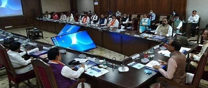भोपाल: शिव मंत्रिमंडल की पहली बैठक हुई संपन्न
