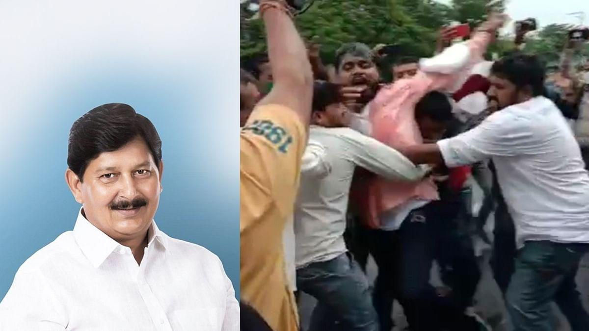 MLA रमेश को मंत्री नहीं बनाने पर भड़के समर्थक, किया आत्मदाह का प्रयास