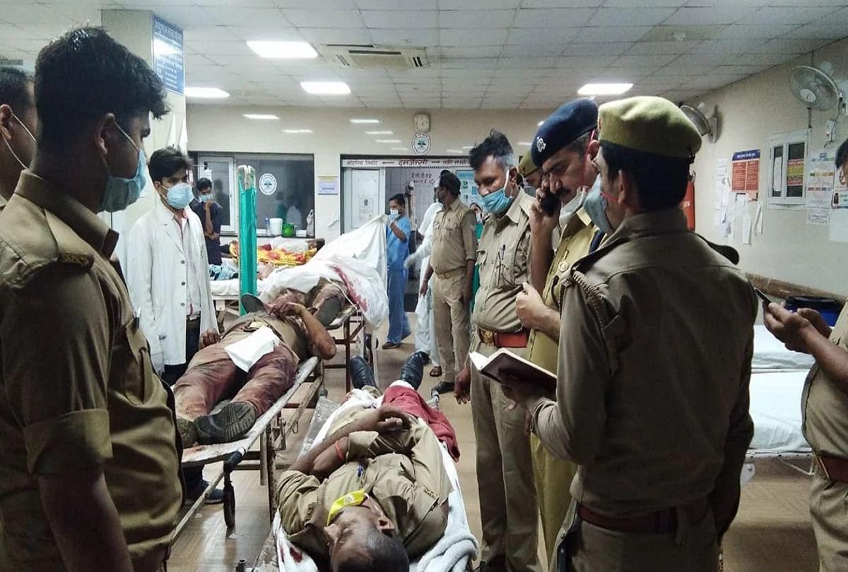 उत्तर प्रदेश: कानपुर पुलिस पर गुंडों ने बरसाईं गोलियां-पुलिसकर्मी शहीद