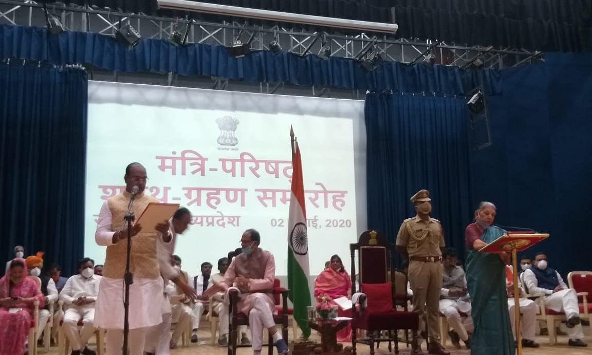मध्यप्रदेश में शिवराज मंत्रिमंडल का हुआ विस्तार,28 मंत्रियों ने ली शपथ