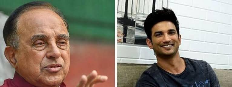 सुब्रमण्यम स्वामी ने कहा- सुशांत ने सुसाइड नहीं की उनकी हत्या हुई है