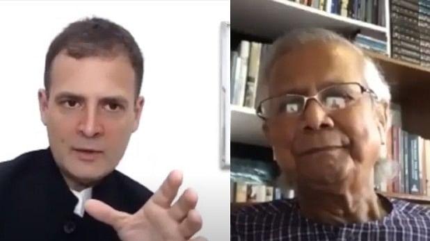 देश में आए संकट पर राहुल गांधी ने नोबेल विजेता मोहम्मद यूनुस से की बात