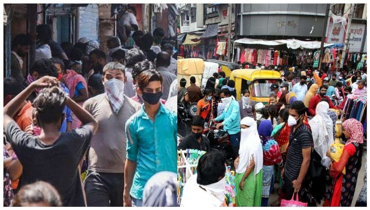 इंदौर में 5 दिन के लिए बाजार अनलॉक