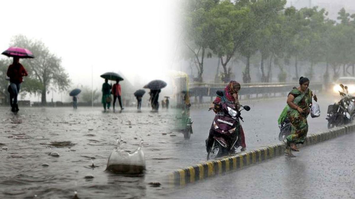 MP के कई जिलों में तेज बारिश से जीवन अस्त व्यस्त, येलो-ऑरेंज अलर्ट जारी