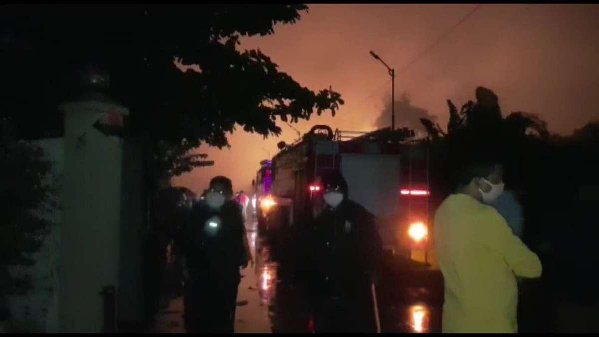 महाराष्ट्र के पालघर में केमिकल्स फैक्ट्री में भीषण विस्फोट