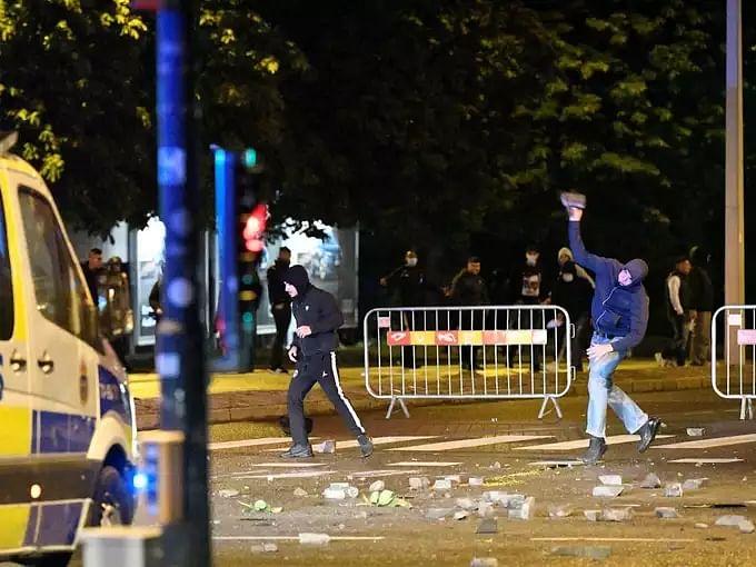 Sweden Malmo Riot
