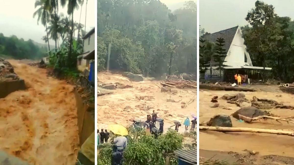 केरल: भारी बारिश के बाद मुन्नार में बड़ा भूस्खलन, जीवन अस्त-व्यस्त