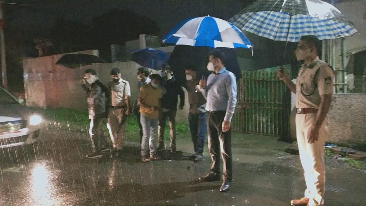 भोपाल : कलेक्टर और डीआईजी ने किया शहर के जलभराव वाले क्षेत्रों का भ्रमण