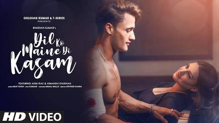 आसिम रियाज-हिमांशी खुराना का नया गाना 'दिल को मैंने दी कसम' रिलीज