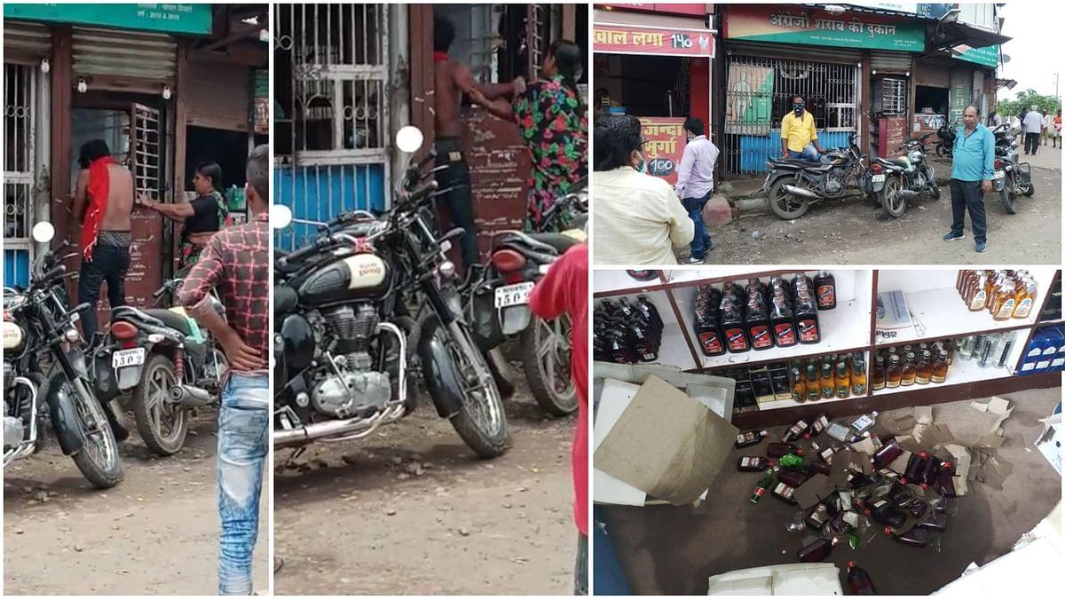 गौतम नगर थाना क्षेत्र में युवक और महिला ने मचाया आतंक