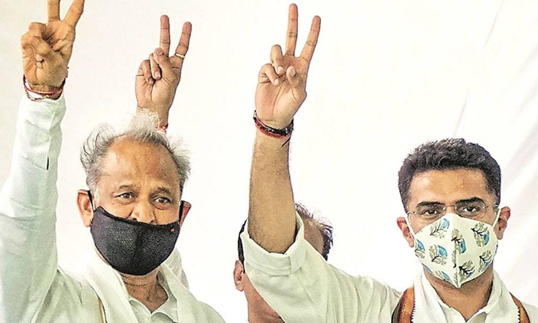 राजस्थान विधानसभा में CM गहलोत ने जीता विश्वासमत- सदन 21 अगस्त तक स्थगित