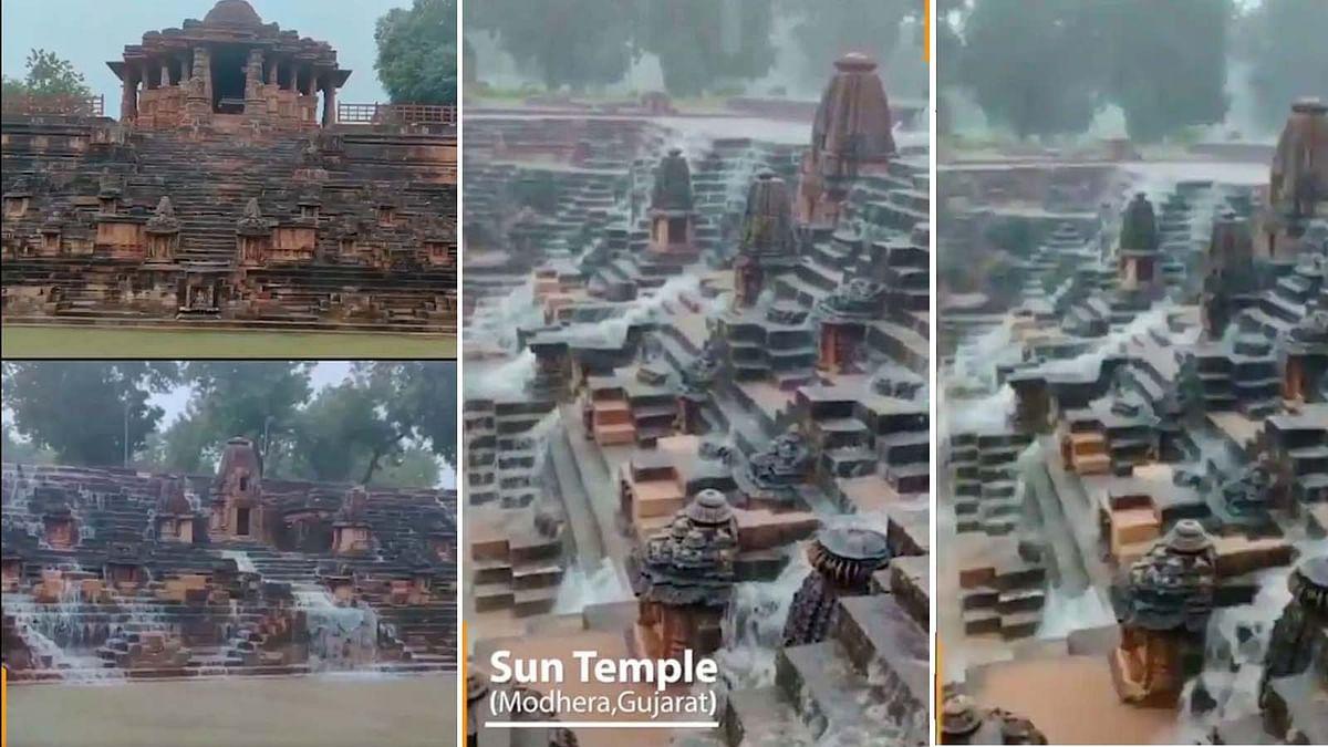PM मोदी ने वीडियो शेयर कर 'मोढेरा के सूर्य मंदिर' का दिखाया अद्भुत दृश्य