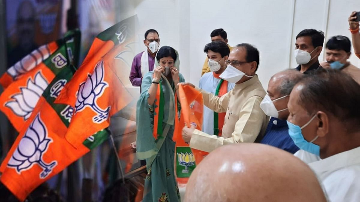 BJP का सदस्यता अभियान कामयाब, पूर्व महापौर समीक्षा गुप्ता की घर वापसी