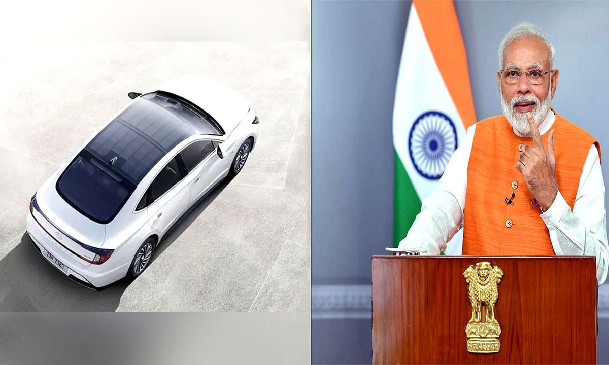 Modi Government will prepare Solar Energy Cars in india