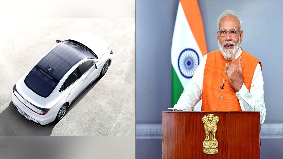मोदी सरकार भारत में तैयार करेगी  सोलर एनर्जी से चलने वाली कार