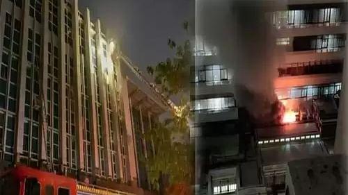 अहमदाबाद: कोरोना अस्पताल में भीषण आग, 8 की मौत 30 से ज्यादा घायल