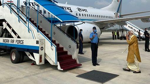 अयोध्या धाम के लिए PM मोदी हुए रवाना- इस अवतार में आए नजर