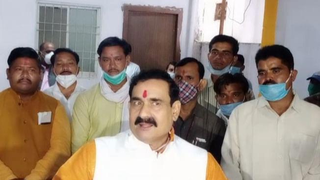 सिंधिया के विरोध पर मिश्रा का बयान, ध्यान भटकाने की है कांग्रेस की साजिश