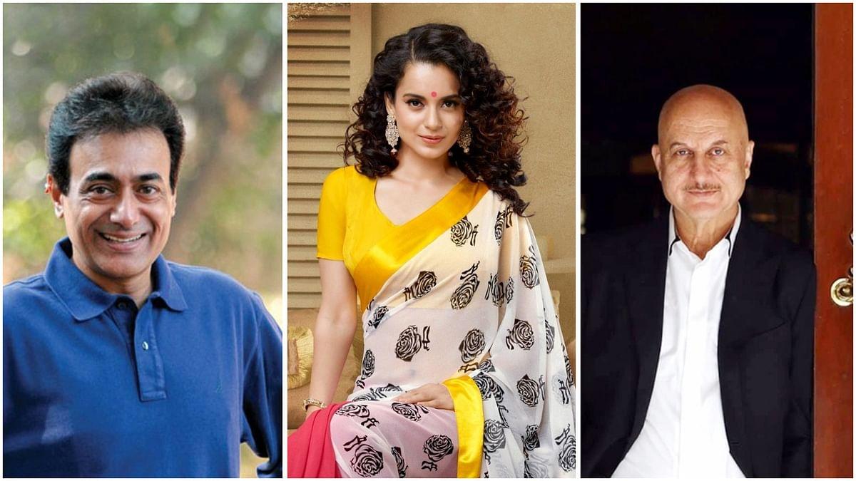 Nitish Bharadwaj, Kangana Ranaut, Anupam Kher