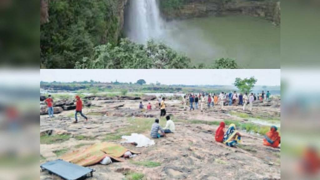 हादसा : रीवा क्योटी जलप्रपात में डूबे 6 युवक, पांच के शव मिलने से मचा हड़कंप