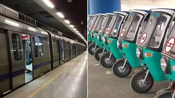 दिल्ली मेट्रो ने शुरू की नई सेवा 'प्री-पेड ऑटो सर्विस'