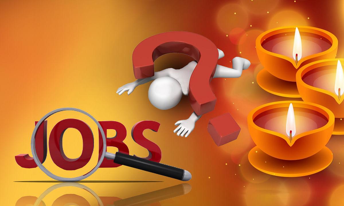 नोटबंदी, GST, COVID-19 जनित बेरोजगारी फेस्टिव सीजन में समाप्त होने की उम्मीद है।