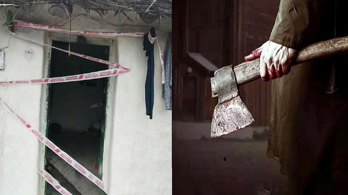 छतरपुर : कुल्हाड़ी मारकर पत्नी की हत्या, पुलिस ने पति को लिया हिरासत में