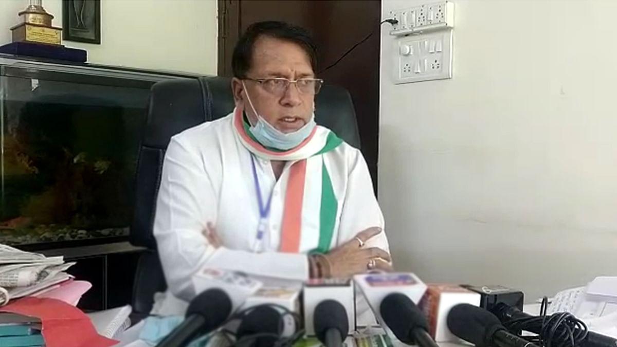 पूर्व कैबिनेट मंत्री पी.सी. शर्मा
