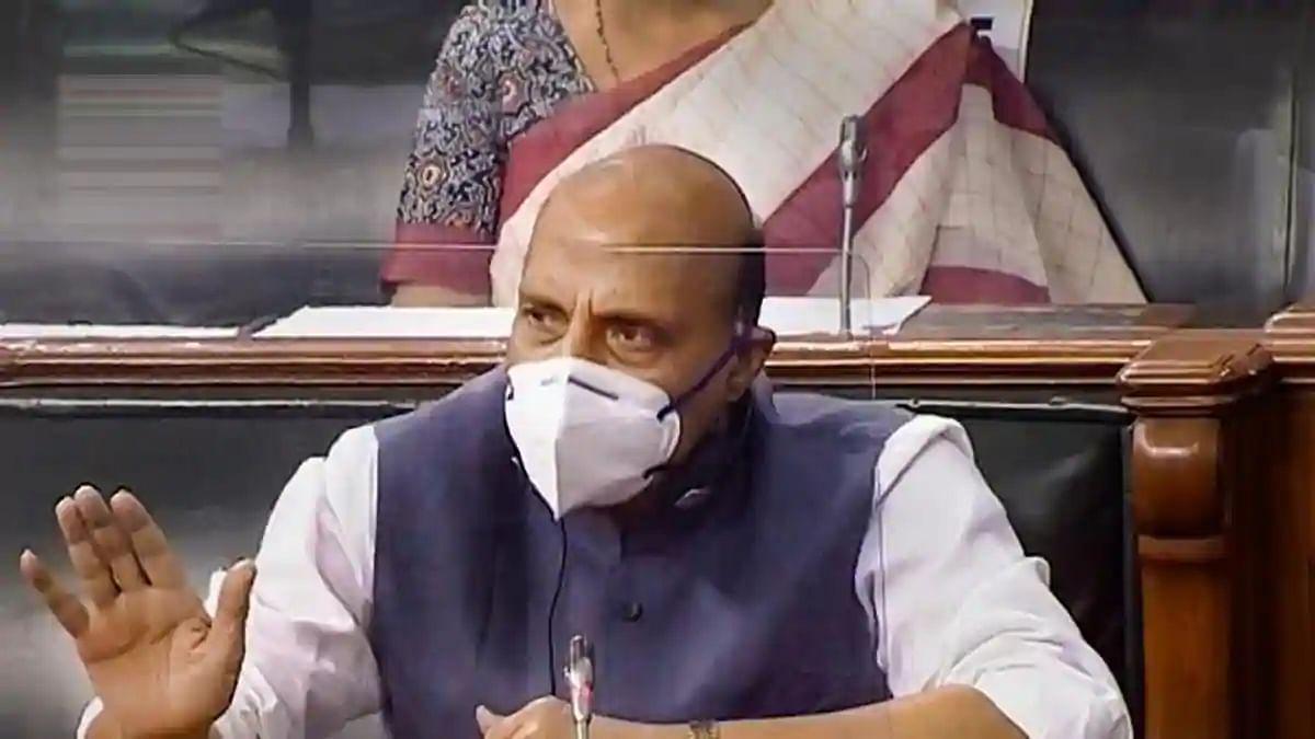 संसद में रक्षा मंत्री राजनाथ ने चुन-चुनकर बताई लद्दाख सीमा के हालात की बात
