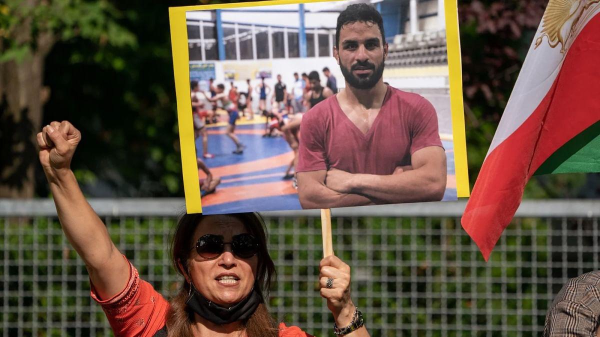 ईरानी रेसलर अफ़कारी को सजा-ए-मौत, गुस्से में दुनिया