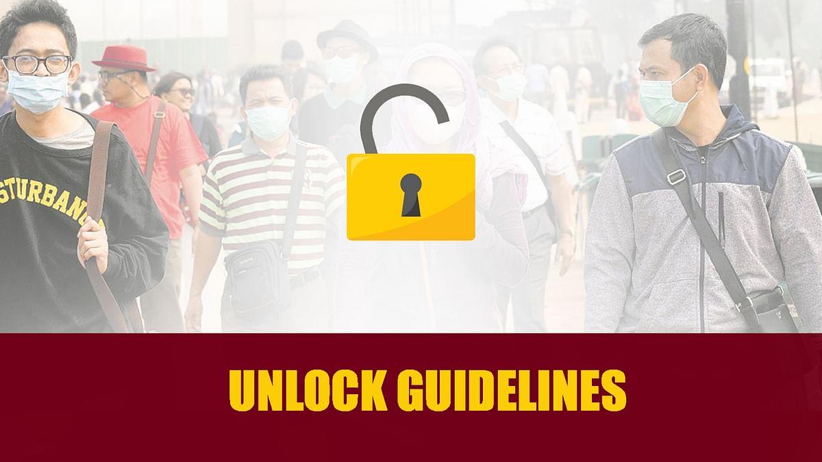 Unlock 5.0 : कई अन्य छूट के साथ जारी हुई अनलॉक-5 की गाइडलाइन