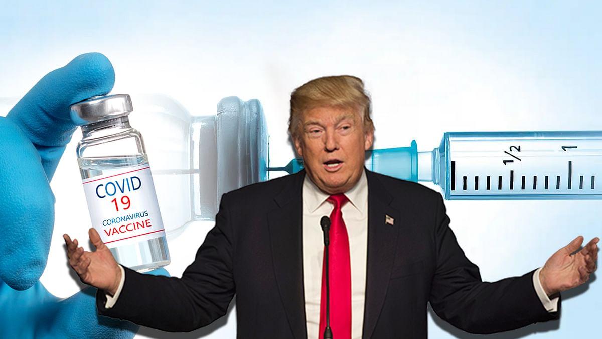 राष्ट्रपति ट्रंप का कोरोना वैक्सीन की डिलीवरी को लेकर बड़ा ऐलान