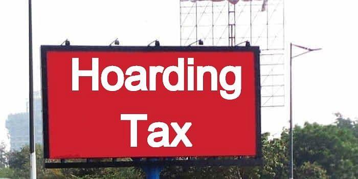 साईट बंद रही, अंतिम दिन जमा नहीं हो सका होर्डिग्ंस टैक्स, लगेगा जुर्माना