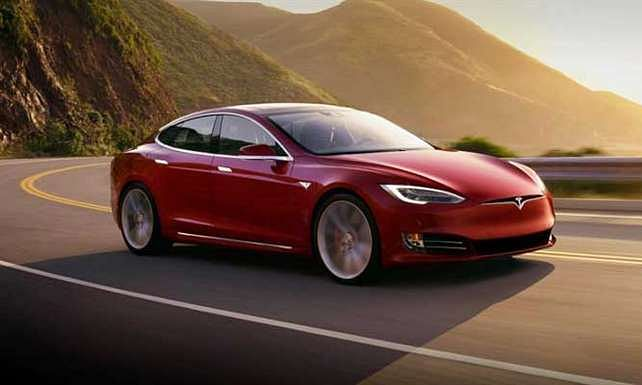 tesla electric car becomes worlds fastest charging car and holds record