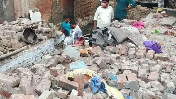Uttar Pradesh balrampur blast