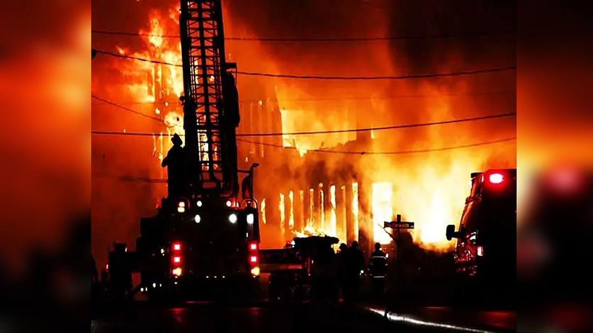 सूरत: ONGC के हजिरा गैस प्रोसेसिंग प्लांट में लगी आग